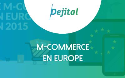 M-Commerce en Europe : un quart du trafic est mobile