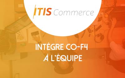 Co-F4 renforce l'équipe ITIS Commerce