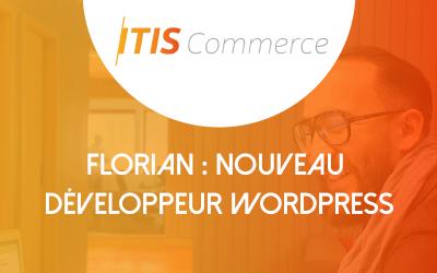Florian, un nouveau développeur intègre ITIS Commerce !