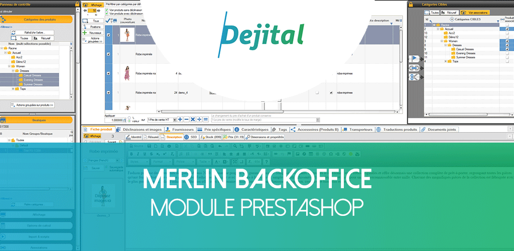 Merlin Backoffice : Le module magique pour son catalogue