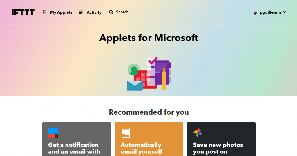 ifttt-automatiser-applications-entre-elle