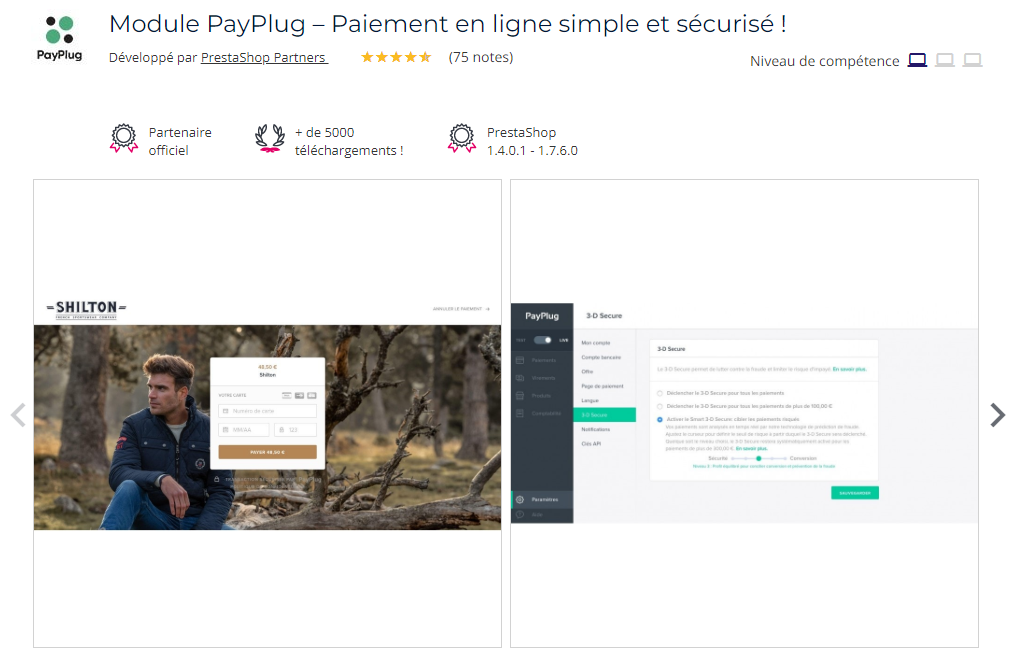 module-payplug-solution-paiement-prestashop