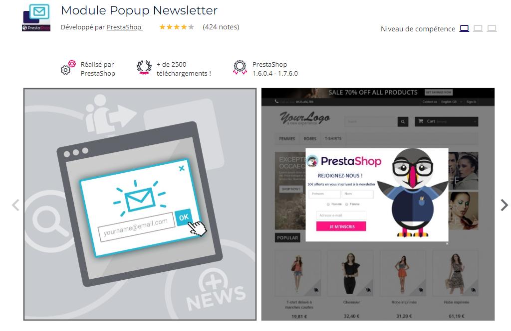 module-prestashop-popup-newsletter