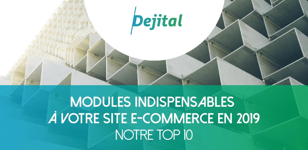 [PrestaShop] Notre TOP 15 des Modules Indispensables à votre Site E-Commerce en 2019