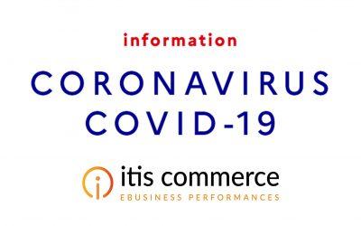 Communiqué Coronavirus ITIS Commerce Mars 2020