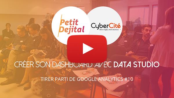 Créer Dashboard Google Data Studio