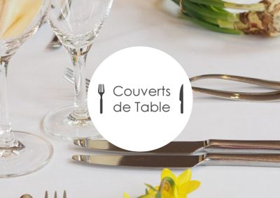 Couverts de table