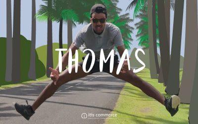 Dans la peau de … Thomas, développeur web chez itis Commerce